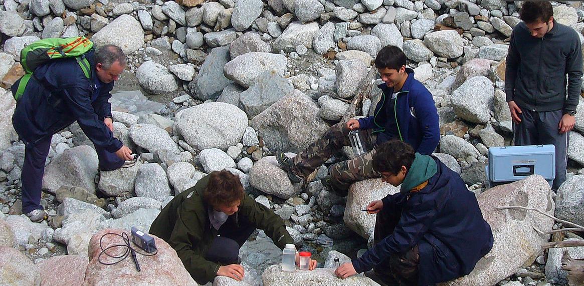 Analisi dell'acqua. Progetto Acqua Morfosi d'Ambiente