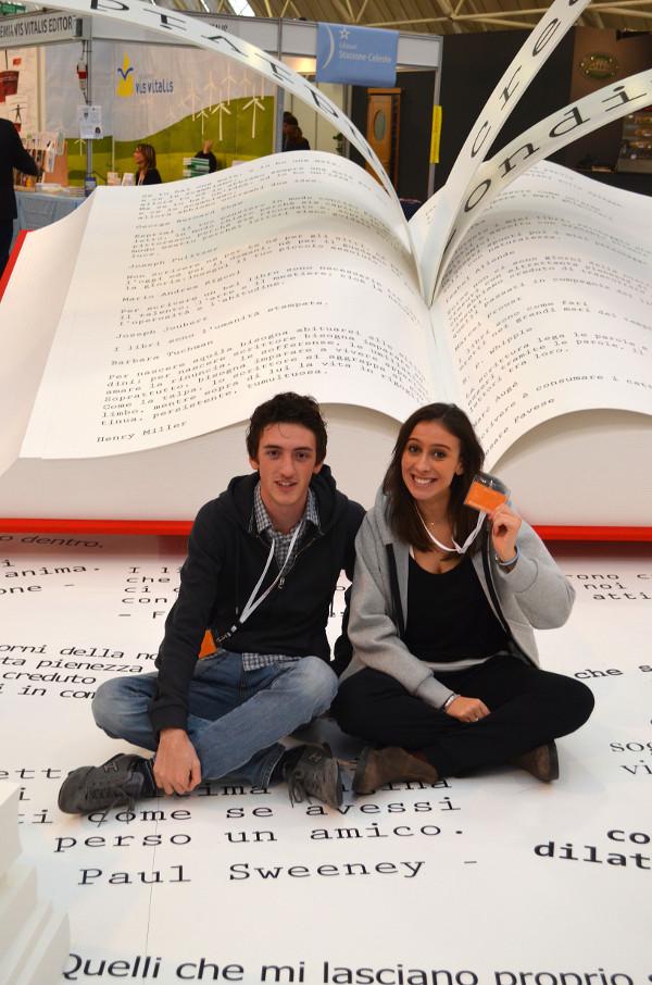 Il Booktrailer al festival del libro di Torino