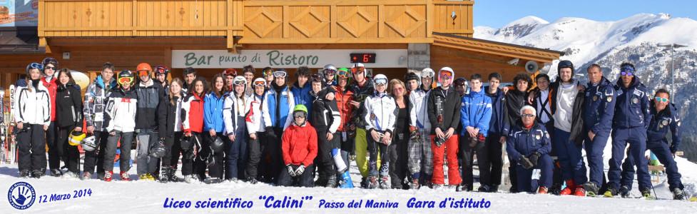 Gara di sci. Maniva 2014