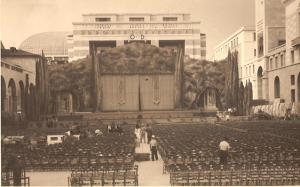 Piazza Vittoria fascista negli anni '30