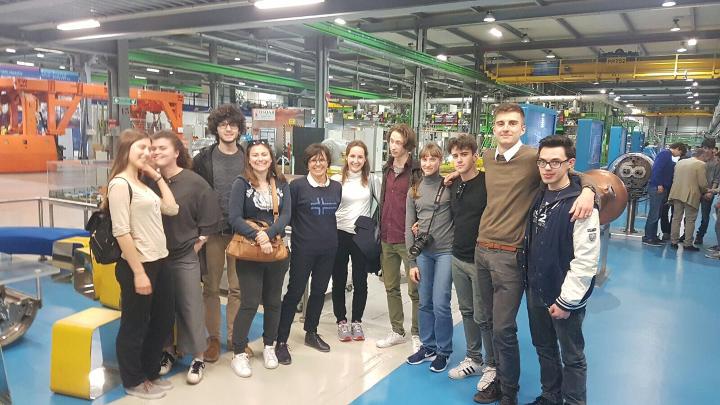 Studenti del Calini in visita al CERN.