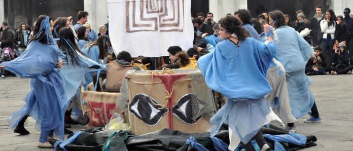 Flash mob Calini