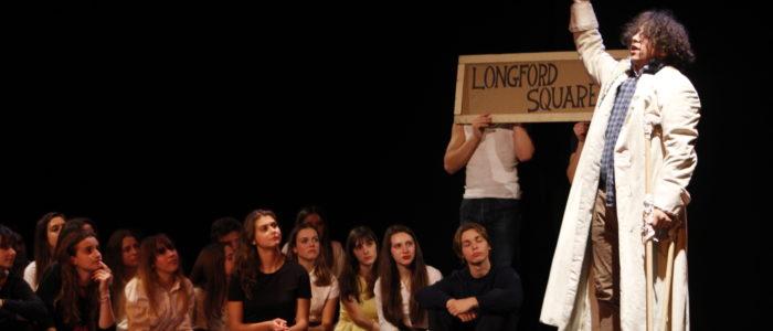 Laboratorio teatraale. Spettacolo Down and out